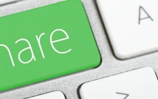 share button keyboard