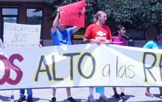 No More Deportations Rally