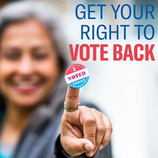 Get Your Right to Vote Back