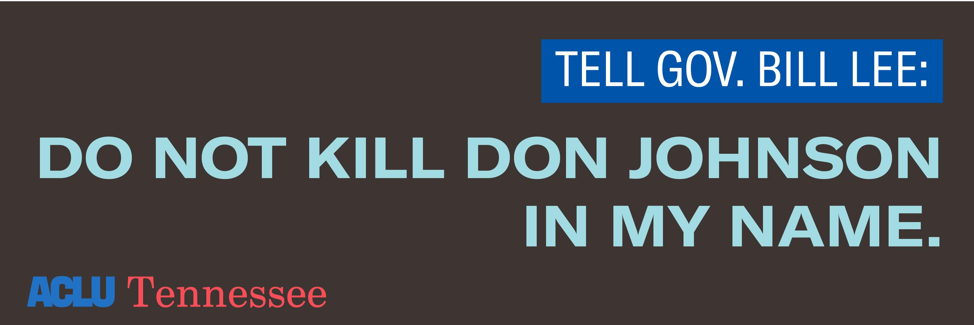 Clemency for Don Johnson