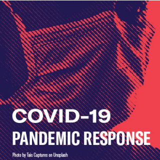 face wearing mask - covid19 pandemic response