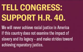 Support HR 40